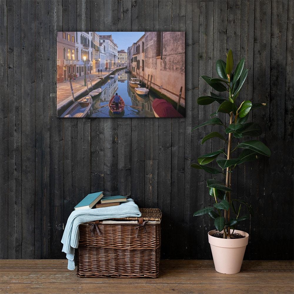 Venetian Stroll – Canvas